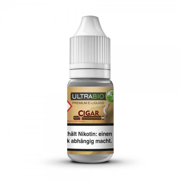 Ultrabio Premium E-Liquid Cigar 10ml
