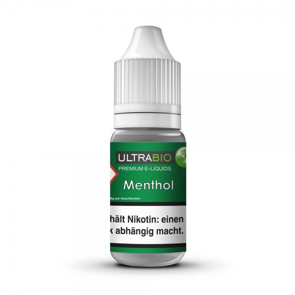 Ultrabio Premium E-Liquid Menthol 10ml