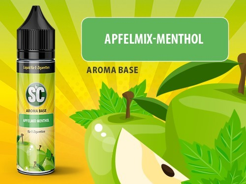 SC Vape Base - Apfelmix-Menthol 0mg/ml 50ml