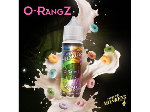 Twelve Monkeys - O-RangZ 0 mg/ml 50ml