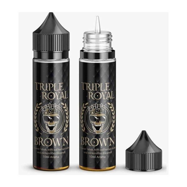 Triple Royal Brown 10ml Aroma Tabak Kaffee Karamell